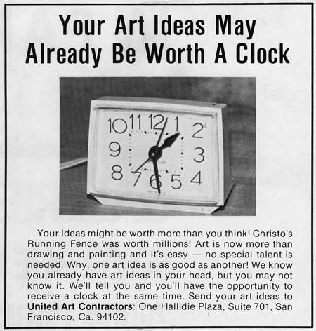 United Art Contractors - Clock