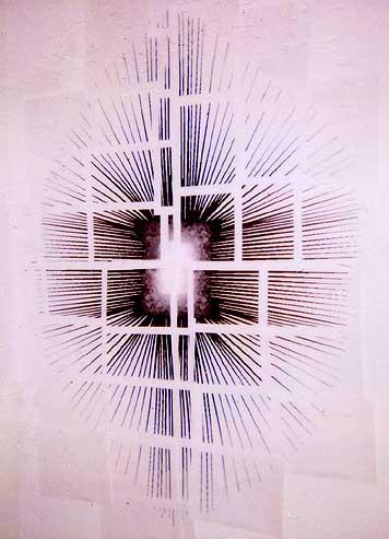 starbust (installation polaroid)