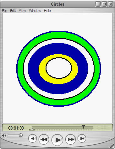 circles screenshot