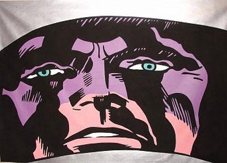 chuck nanney - appearance s - 1988 acrylic 60 x 84
