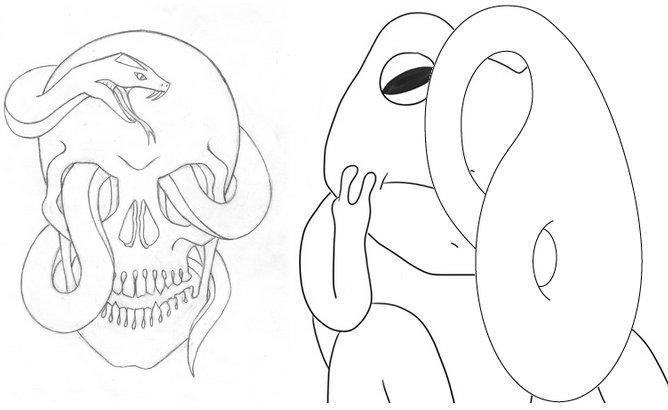 skullsnakekleinfrog