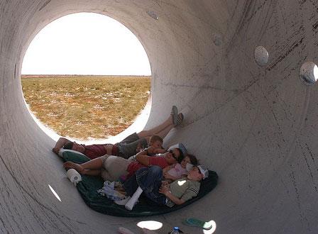 sun tunnels by listorama