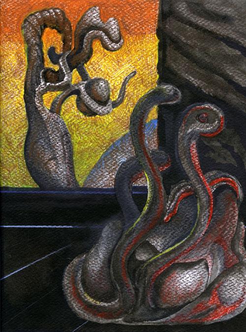 alien snakes