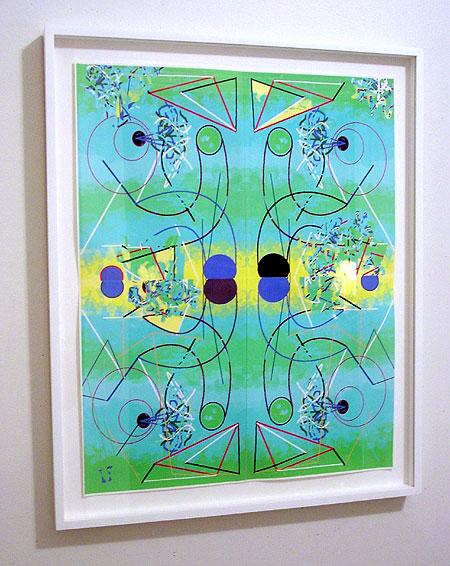 mirror x 4 framed