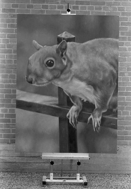Tom Moody, Big Squirrel, 1984