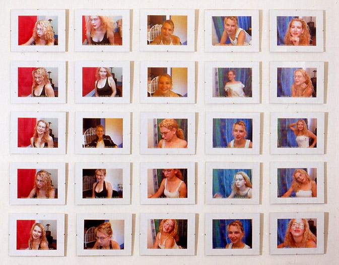 web cam girl, 2000